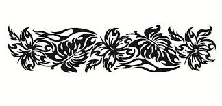Flower Car Decals Car Stickers Hibiscus Flower Car Decal 02 Anydecals Com
