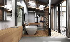 industrial style bathrooms plus ideas