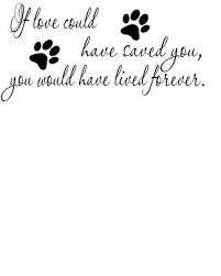 Paw Print Memorial Wall Decal Scripture Wall Art Vinyl Decal Wall Art And More