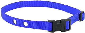 Amazon Com Heavy Duty Dog Fence Replacement Strap For Invisible Fence Brand Collars Blue Pet Supplies