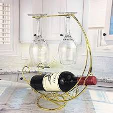 wine rack hanging wine glass holder bar