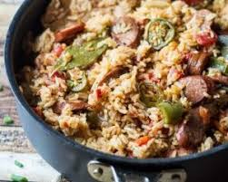 one pot y southern sausage and rice