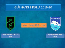 Pordenone Calcio SSD vs Delfino Pescara 1936 – Tip kèo bóng đá – 21h00 ngày  25/01/2020 – Italy Serie B – giải Hạng 2 Italia 2019-20