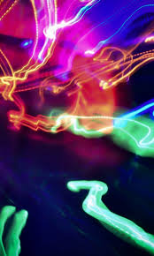 colorful led lines hd wallpaper 480x800