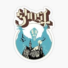 Ghost Band Stickers Redbubble