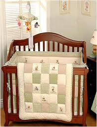 pooh baby crib bedding sets for baby bed