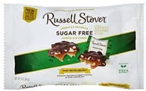 russell stover sugar free dark pecan