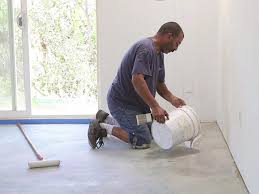 How to Refinish a Garage Floor | how-tos | DIY
