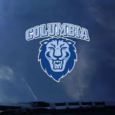 Columbia University Color Shock Mascot Decal Official Columbia True Spirit Shop