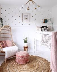 Mini Triangles Room Inspiration Stylish Bedroom Design Cute Room Decor