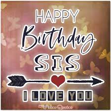 cute birthday messages for sister by wishesquotes