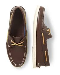 sperry top sider leather boat shoes