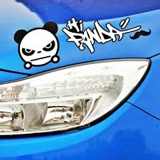 Volkrays Car Styling Graffiti Anger Panda Car Stickers Decal For Motorcycle Ram Caliber Avenge Charger Viper Durango Journey Car Stickers Aliexpress