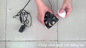 Máy khử mùi nhà bếp mini - YouTube