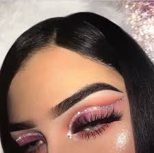 cut crease matte valentines makeup