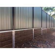 Ridgi 580 X 50 X 3mm Galvanised Steel Fence Bracket Bunnings Warehouse