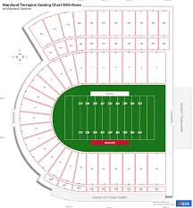 maryland stadium seating charts