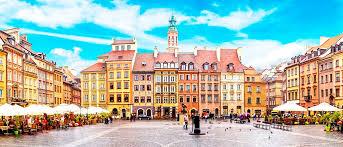 ¡Varsovia, fría pero colorida!