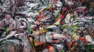 4k graffiti wall wallpaper hd