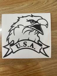 Usa American Patriotic Eagle Car Truck Window Wall Laptop Vinyl Decal Sticker Car Stickers Aliexpress