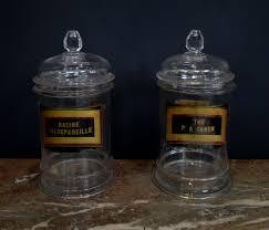 late 19th century apothecary jars