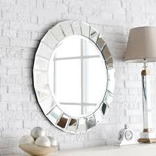 wooden bathroom mirror sets