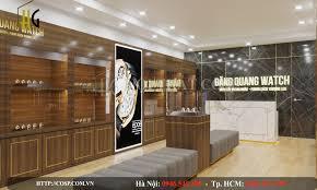 Thiết kế nội shop đồng hồ Đăng Quang – Phố Huế