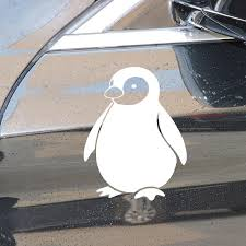 Buy 2 Pieces Car Sticker Cute Penguin Pattern Waterproof Removable Decal Car Sticks Decals At Jolly Chic