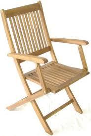 wooden garden armchair catering