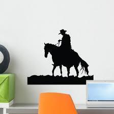 Lone Ranger Cowboy Wall Decal Wallmonkeys Com