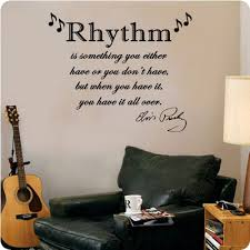 Amazon Com Valuevinylart Elvis Presley Quote Rhythm Is Something You Either Have Or Don T Wall Decal Home Kitchen