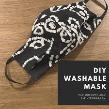 DIY WASHABLE MASK PATTERN