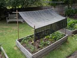 how to make garden shade sustainable