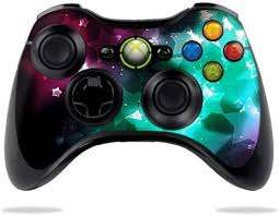 Amazon Com Protective Vinyl Skin Decal Skin Compatible With Microsoft Xbox 360 Controller Wrap Sticker Skins Glow Stars