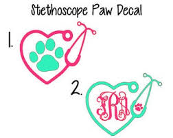 Vet Tech Decal Etsy