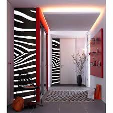 Zebra Stripe Decal Wizard And Genius Wall Stickers
