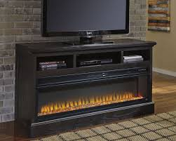 sharlowe 63 tv stand with fireplace
