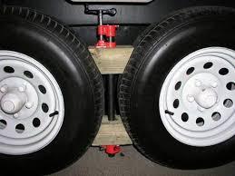 rv wheel chocks for tandem wheels