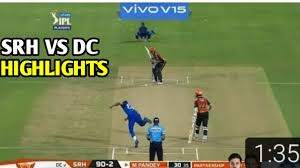 SRH vs DC Full Highlights IPL 2020 ...