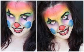 scary clown makeup makeup