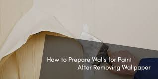 prepare walls for paint after removing