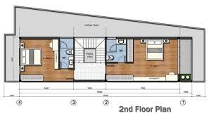 three y narrow lot house concept
