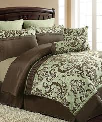 sage brown danielle comforter set