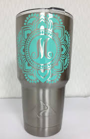 Stainless Steel Tumbler With Personalized Decal Ozark Trail Etsy
