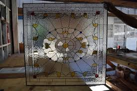 elegant victorian palace stained glass