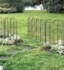 Landscape Garden Border Fence Fence And Gate Ideas Wrought Iron Garden Border Fence Metal Garden Fencing Decorative Garden Fencing Garden Gate Design