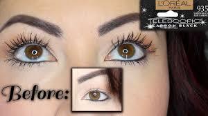 loreal telescopic mascara review demo