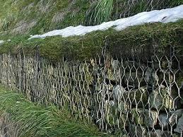 Green Gabion Basket For Slope Vegetation And Reinforcement