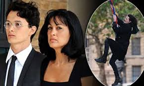 Charlie Gilmour's mother Polly Samson tweets: 'My boy's locked up 23 hours  a day'   Daily Mail Online