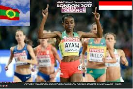 The amazing victories of Oromo Athletes Almaz Ayana (Gold) and ...